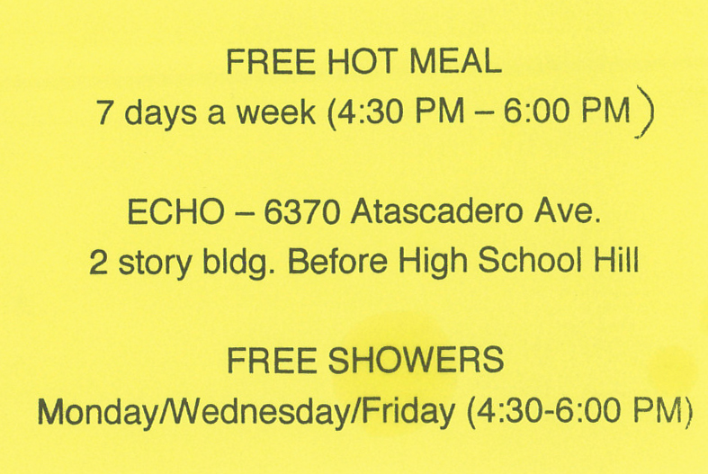 Free Hot Meal